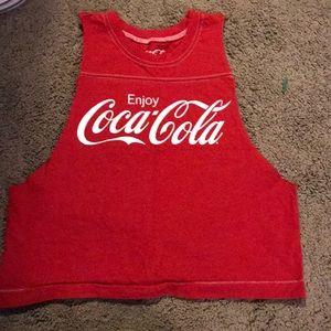 Coca Cola sm forever 21 crop top